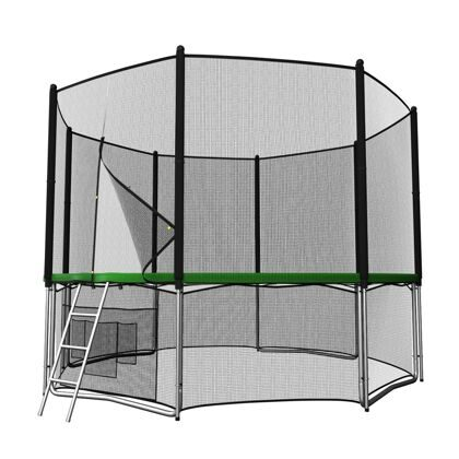 Батут UNIX line 8 ft outside (Green)